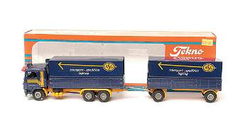 1482 Tekno Volvo F12 Articulated Truck and Trailer