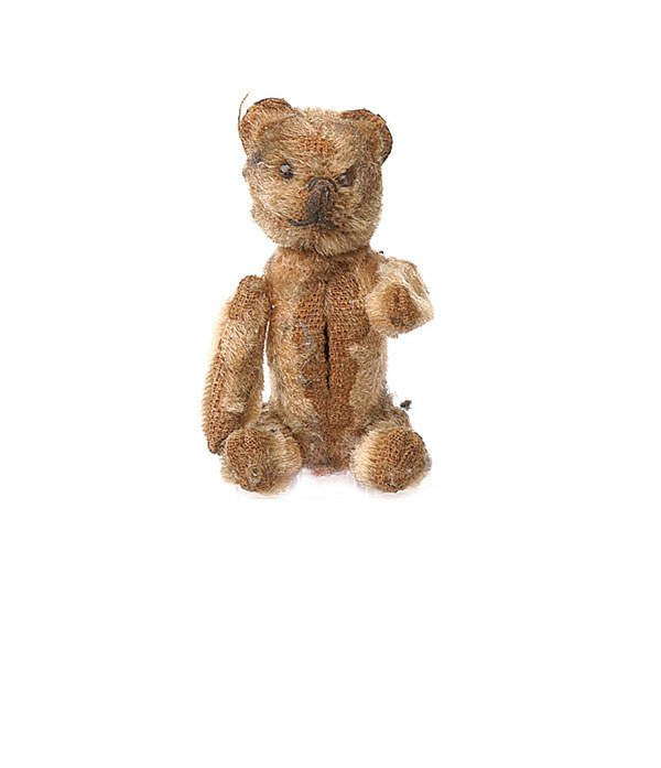 2004: Schuco teddy bear compact, German, 1920s