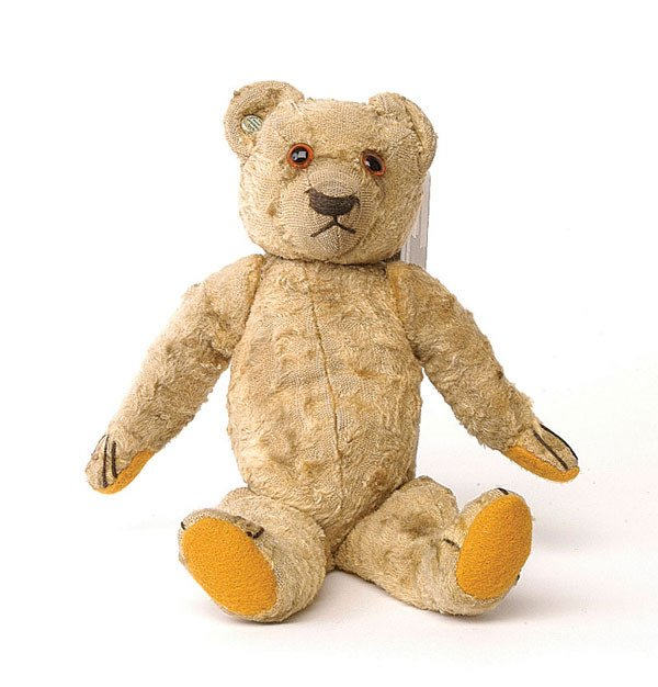 "2005: ""Wednesday"": Chad Valley teddy bear"