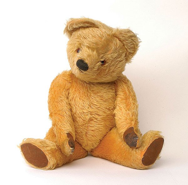 2006: Chad Valley teddy bear, British, 1950s