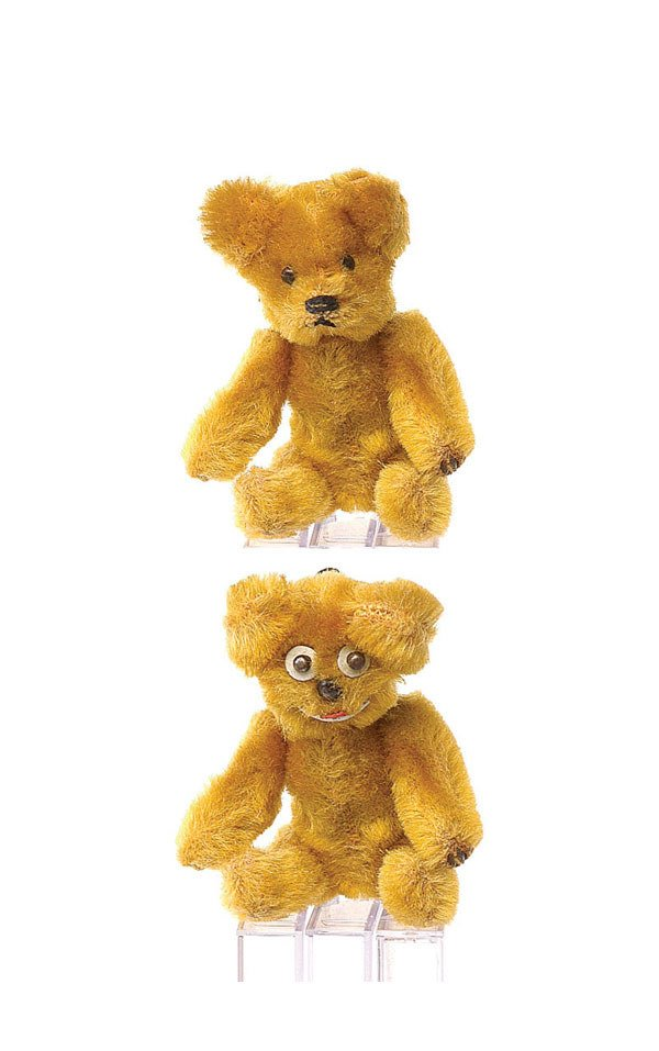 2007: Schuco Janus twin faced teddy bear, German