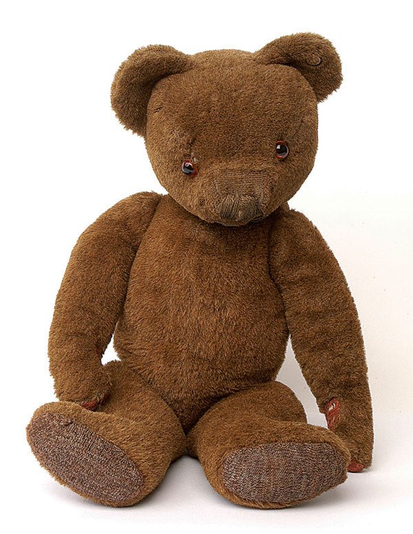 2010: Merrythought teddy bear, British, 1930s