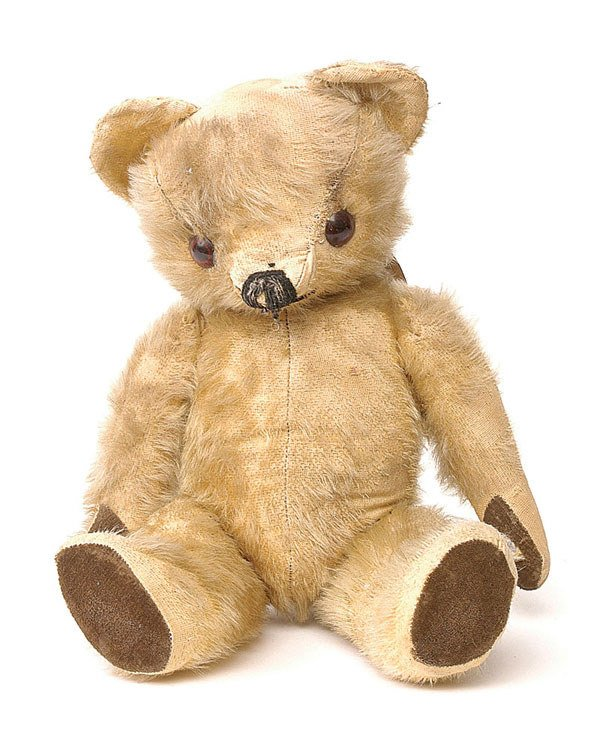 2013: Chad Valley teddy bear, British, 1960s