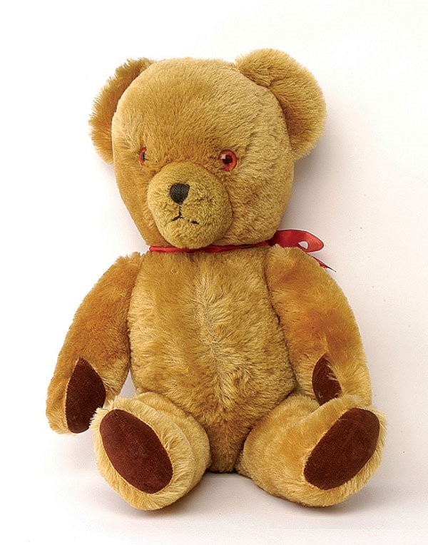 2020: Pedigree teddy bear, British, 1960s