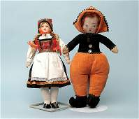 2161 Rheinische Gummi shoulder head doll