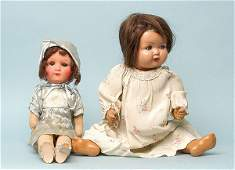 2178: Armand Marseille painted bisque doll