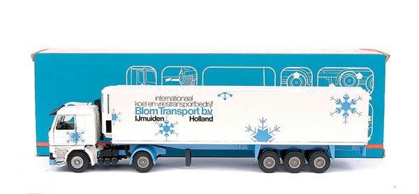 "488: Tekno Scania 142 Fridge Truck ""Blom Transport"""