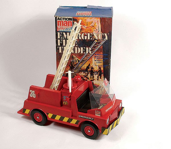 1002: Palitoy Action Man Fire Tender Vehicle
