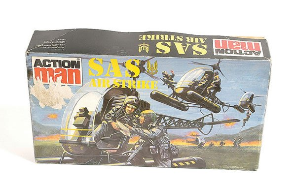 1009: Palitoy Action Man SAS Air Strike Helicopter