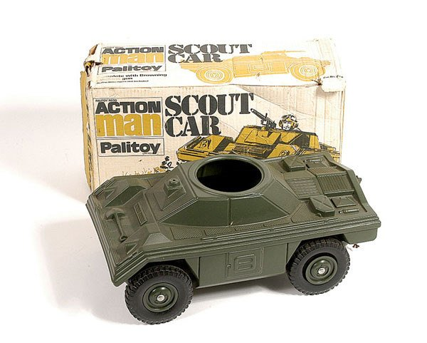 1012: Palitoy Action Man Scout Car