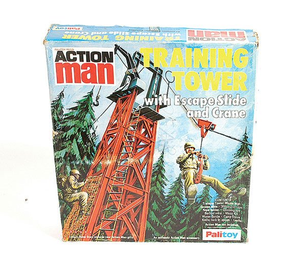 1016: Palitoy Action Man Training Tower