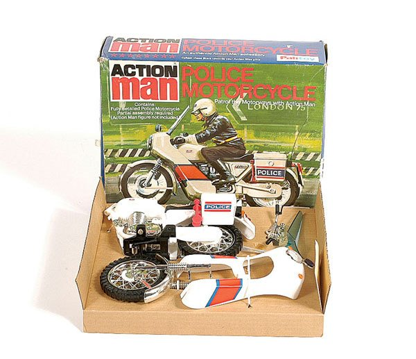 1017: Palitoy Action Man Police Motorcycle
