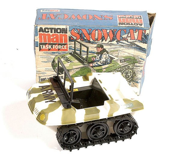 1022: Rare Palitoy Action Man Task Force Snowcat