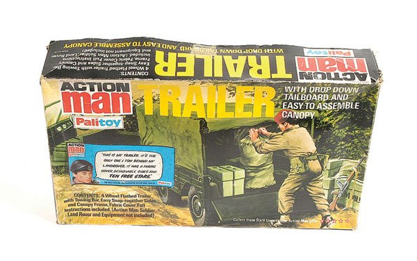 1023: Palitoy Action Man Trailer