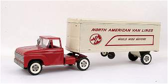 "1242: Structo ""North American Vanlines"" Truck"