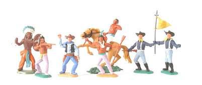 2166 Timpo  plastics  Wild West Series