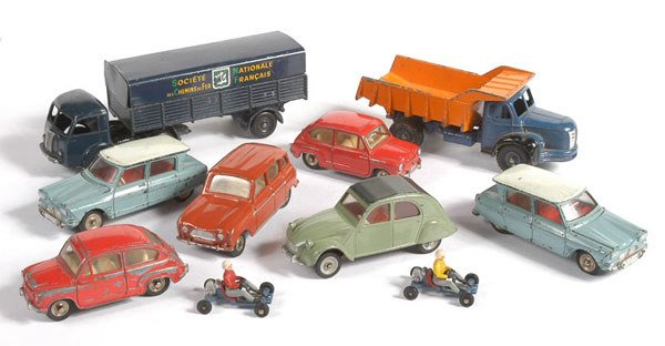 2271: Dinky Toys (French) - Unboxed Cars & Commercials