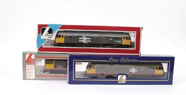 3008: Lima - a trio of Railfreight Diesel Locos