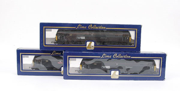 3009: Lima - a trio of Co-Co Class 47 Diesel Locos