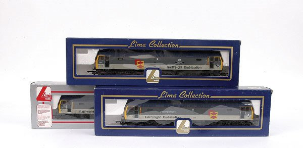 3010: Lima - 3 x Co-Co Class 47 Diesel Locos