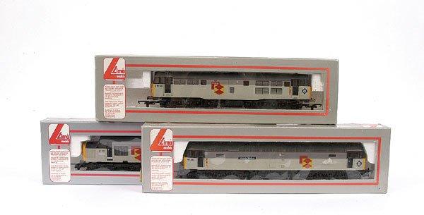3011: Lima - a trio of Railfreight Diesel Locos