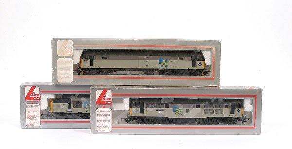 3012: Lima - a trio of Railfreight Diesel Locos