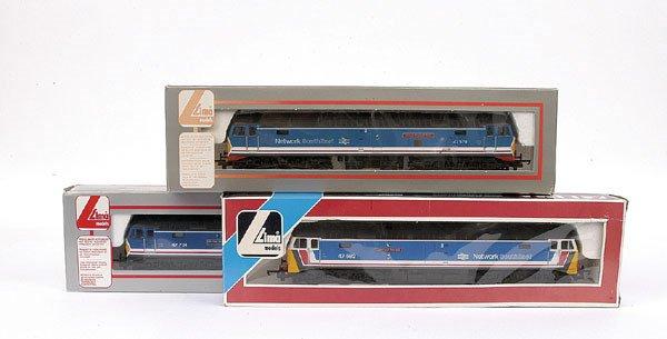 3014: Lima - 3 x Co-Co Network SE Class 47 Diesel Loco