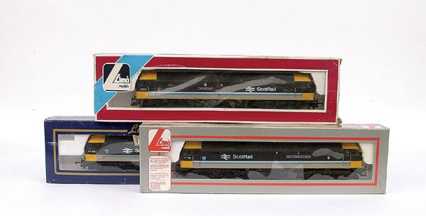 3016: Lima - 3 x Co-Co Scotrail Class 47 Diesel Locos