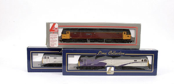 3020: Lima - a trio of Co-Co Class 47 Diesel Locos
