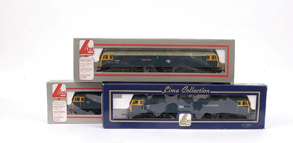 3021: Lima - a trio of Co-Co BR Class 47 Diesel Locos