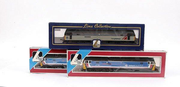 3022: Lima - a trio of Co-Co Diesel Locos