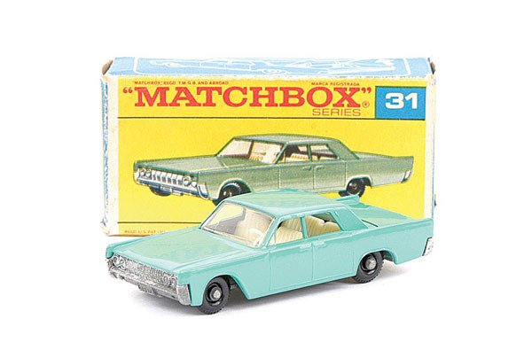 7: Matchbox No.31 Lincoln Continental