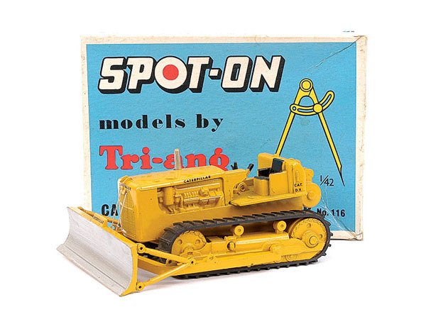 1254: Spot-On No.116 Caterpillar D9 Bulldozer