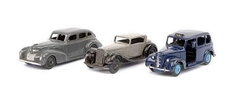 1773: Dinky Post-war Chrysler 4-door Saloon & Others