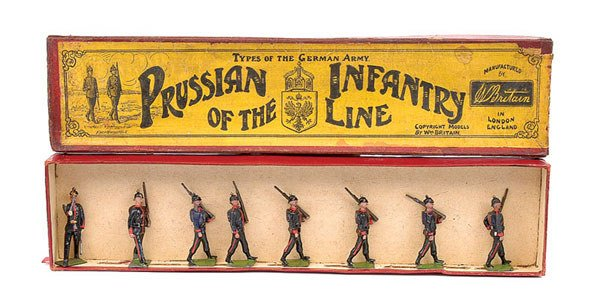 2001: Britains - Set 154 - Prussian Infantry