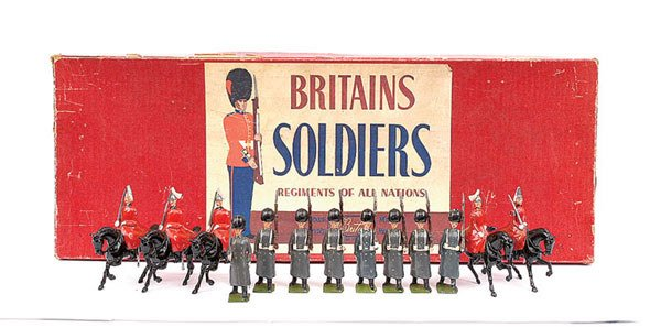 2002: Britains - Set 429 - British Army Display