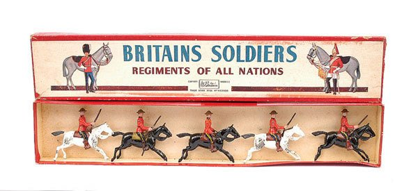 2004: Britains - Set 1349 - RCMP - Mounted
