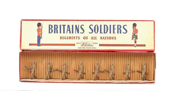 2009: Britains - Set 110 - The Devonshire Regiment