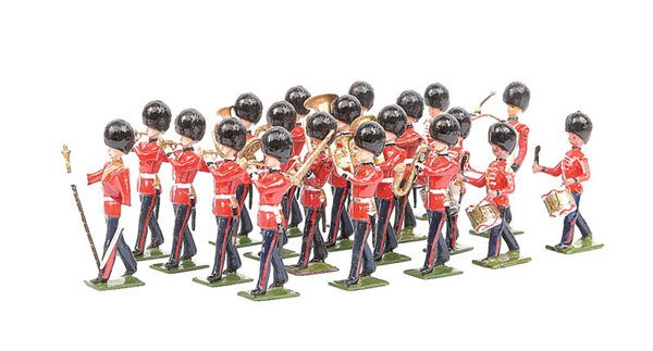 2010: Britains from set37-Coldstream Gds Marching Bd