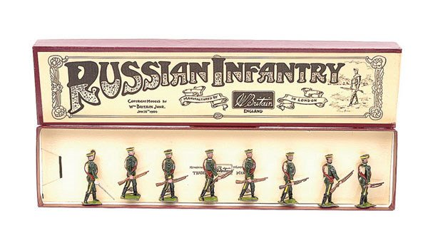 2020: Britains - Set 133 - Russian Infantry