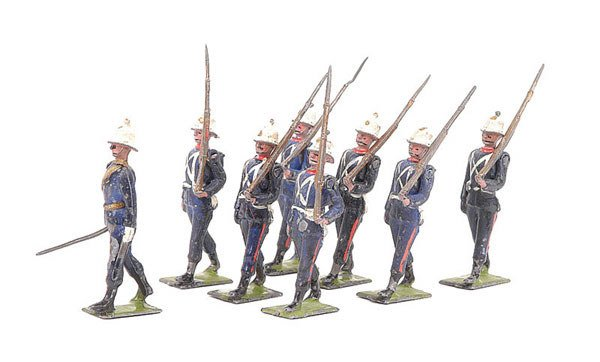 2022: Britains-Set 35 - Royal Marines - 1928 version
