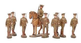 2140 Elastolin Lineol  similar WWI Infantrymen