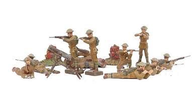 2146: Elastolin, Lineol & similar- WWI Infantrymen