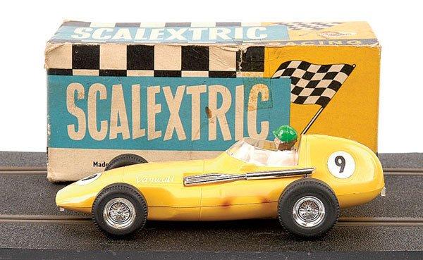10: Scalextric No.C55 Vanwall F1 Racing Car