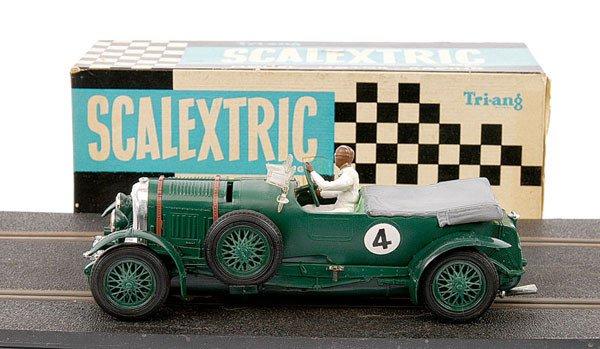 23: Scalextric No.C64 Vintage Bentley