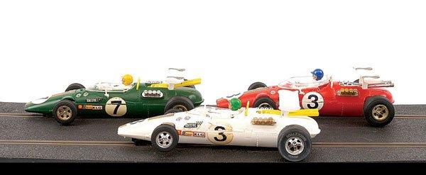 108: Scalextric - 5 x No.C8 Lotus Indianapolis