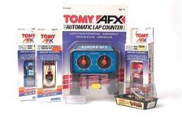376: Aurora & Tomy - AFX - a group of Slot Cars