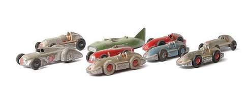 568: Dinky - group of Racing Cars