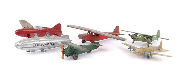 1003: Hubley and Tootsietoy Aircraft