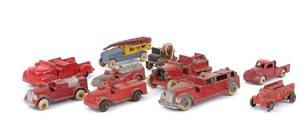 1004: Tootsietoys and Other Fire Trucks
